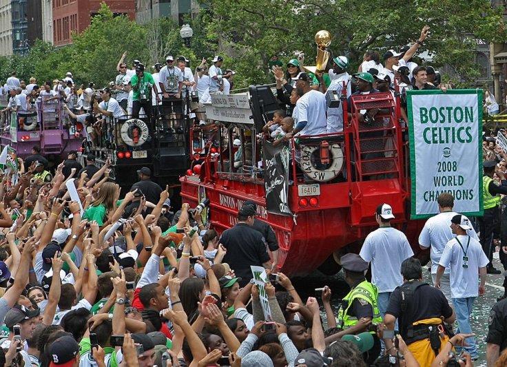 Celtics Duckboat