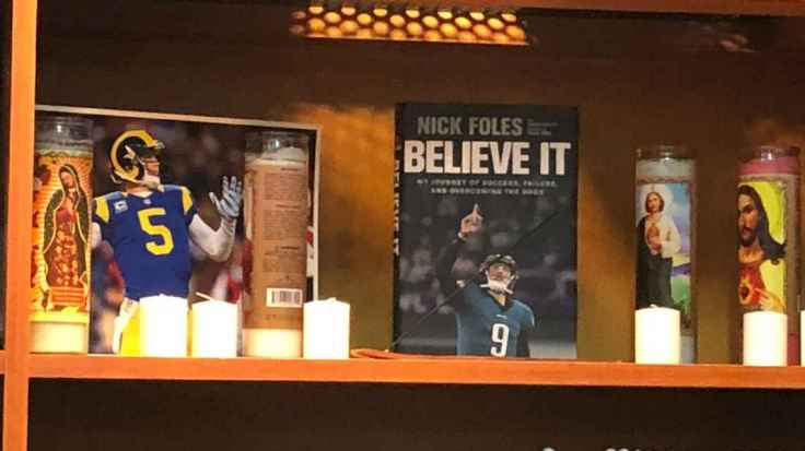 Nick Foles Shrine