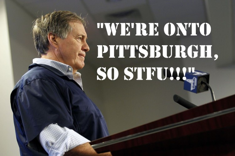 Belichick press con