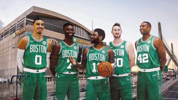 Celtics at garden