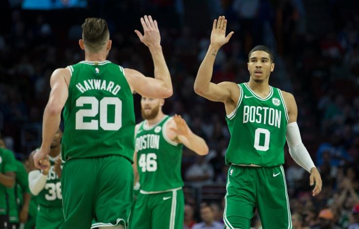 Boston Celtics v Philadelphia 76ers